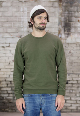 SWEATSHIRT ARMAND KAKI