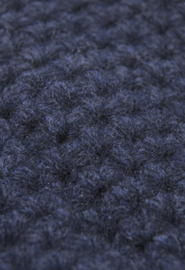 BONNET EN LAMBSWOOL NAVY