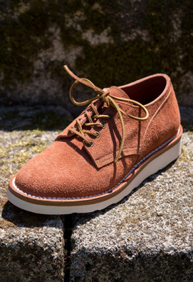 DERBIES CHUCK TERRACOTTA